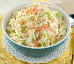 ❤️🍃 KFC COLESLAW RECIPE ❤️🍃 The dressing in this recipe tastes exactly, I mean EXACTLY,  like the original in my book! And let's…