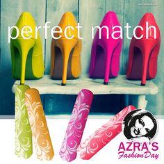 "#Pumps and #Nails!  #Nailart ""the #perfect #match"" #design #abc_nailstore #fashion"