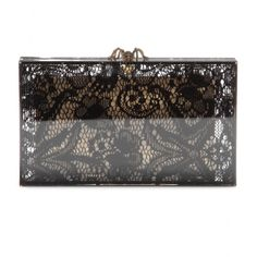 mytheresa.com - Lacey Pandora box clutch - Clutch bags - Bags - Luxury Fashion for Women / Designer clothing, shoes, bags