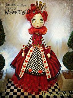 OOAK Art Doll Urchin Gwendoline via Etsy