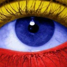 My World of Colours Rainbow Colors, Vibrant Colors, Colours, Flag Colors, True Colors, Blue Yellow, Red And Blue, Colombian Culture, Josi