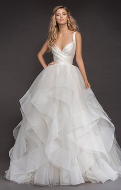 Wedding Dress Inspiration - Hayley Paige #weddingideas