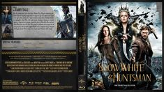 Snow White And The Huntsman Blu-ray Custom Cover Blu Ray Movies, Genre, Doll Houses, Cover Design, Fairy Tales, Snow White, Anime, Barbie, In This Moment