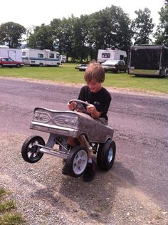 pics of our pedal car gasser | Page 2 | The H.A.M.B.