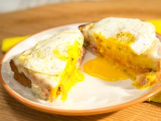 Croque Madame recipe from Katie Lee via Food Network