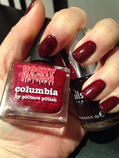 Victoria nails inc + Columbia picture polish