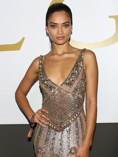 Shanina Shaik attends the amfAR Milano 2014 - Cocktail as part of Milan Fashion Week Womenswear Spring/Summer 2015. Picture: Getty