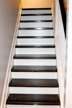 AM Dolce Vita: Hallway. Paint StairsCarpet ...