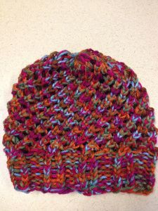 Ravelry last minute slouchy hat by isela using round loom pattern ravelry project gallery for last minute slouchy hat by isela using round loom pattern by leiza mcarter by tracey dt1010fo
