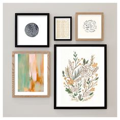 Love this art wall.. Especially the @makewells print! (Top right) she is a fave designer!