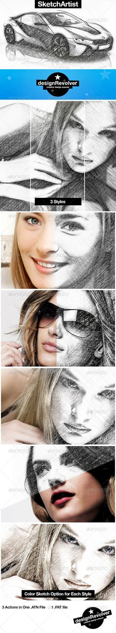 Sketch Artist Photoshop Action