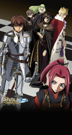 Anime Couples Manga, Cute Anime Couples, Anime Manga, Anime Art, Anime Girls, Code Geass Kallen, Code Geass Wallpaper, Japanese Anime Series, Manga Illustration