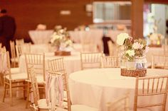 shabby chic wedding decor at the Roundhouse
