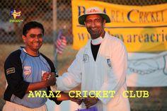Rajendra B (Left) - Former US regional coach & BACA Gladiators player, KV (Right) - BACA umpiring committee head.