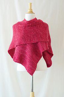 hooded wrap knitting pattern