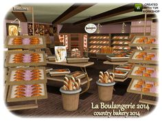 Countryside Bakery 2014 by Jomsims - Sims 3 Downloads CC Caboodle