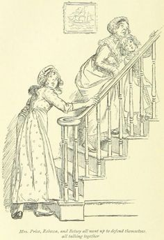 """British Library digitised image from page 372 of """"Mansfield Park"""" Jane Austen Mansfield Park, Jane Austen Books, Best Novels, Romance, Classic Literature, Ink Pen Drawings, British Library, Regency Era, Georgian"""