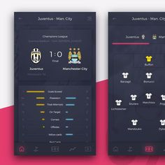 Day 75 - Football Application #ui #ux #uidesign #userinterface #dailyui #inspiration #userinterfacedesign #dribbble #designchallenge #football #soccer #sport #juventus #championsleague @ui.designs @sliceofui @uidesigninspiration @pixelperfectdesign_ @ui.hunt by http://ift.tt/1RAXz0g