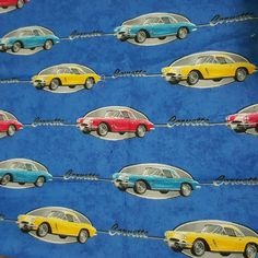 Check out this item in my Etsy shop https://www.etsy.com/listing/287100157/corvette-fabric