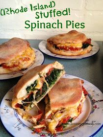 Rhode Island Stuffed Spinach Pies