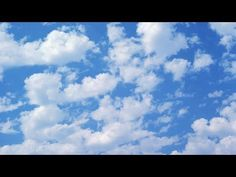 Painting Clouds Acrylics The Easy & Fastest Way - YouTube