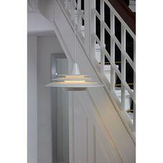 Pendelleuchte Saturn - Metall Weiß   Home24