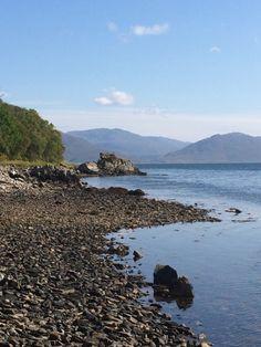 Shoreline at Kinloch Lodge, Sleat, Isle of Skye