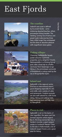 Highlights of Iceland's East Fjords - find our more in our new brochure: http://view.intellimag.com/go/dtw-iceland-greenland/