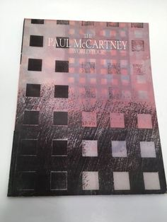 Paul McCartney World Tour concert program 1989 1990