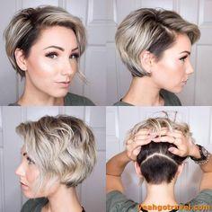 Longer Pixie Haircut, Haircut For Thick Hair, Curly Hair Cuts, Curly Hair Styles, Modern Hairstyles, Popular Hairstyles, New Hair, Hair Inspiration, Hair Makeup