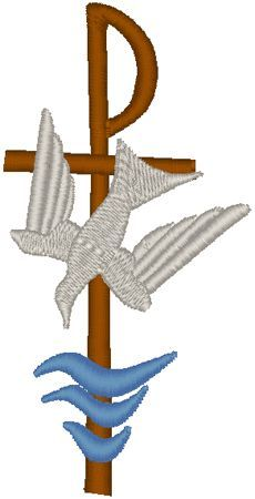 symbols of catholic baptism - Google Search | needle ...