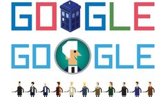 Doctor Who Google doodle: the story behind the Whodle. Happy Anniversary Doctor Who!