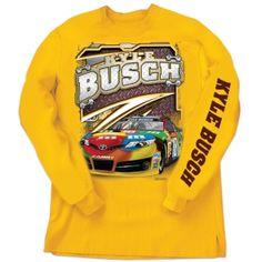 Kyle Busch Long Sleeve Tee | Raceline Direct