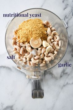 A vegan, cheese flavored cream sauce made from cashews and nutritional yeast. A simple, healthy, and delicious cashew cream can be made in 5 minutes! Paleo and Whole30. | hungrybynature.com