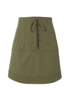 MARISSA WEBB Adley Canvas Skirt. #marissawebb #cloth #skirt
