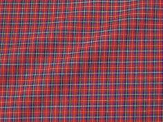 Mini-Tartan+Pima+Cotton,+Red/Blue/White+