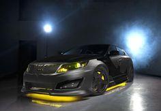 BatmanCar Kia Optima nice...