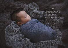 Dark Heather Grey Newborn Wrap Photo Prop (UNDER baby) by CricketsCreations #boy #photography