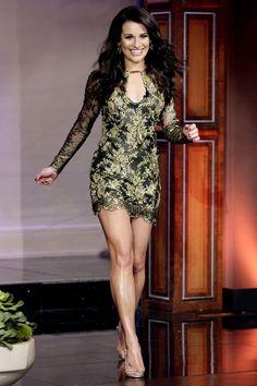 Lea Michele looking fierce.