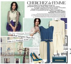 """#681:Lily Collins Covers LA Times Magazine"" by cassandramurray ❤ liked on Polyvore"