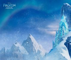 Elsa's Ice Castle from Disney's Frozen