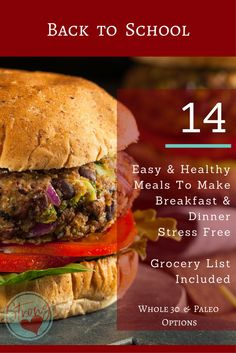 No time for breakfast and dinner? We hear you!!! Time is short! You want meal time to be stress free, easy and healthy! YES! 2 weeks of FREE recipes for Breakfast & Dinner, with printable grocery list and menu too! All meals are Paleo friendly, and most breakfast options are PORTABLE too! Insert happy mom dance!!!