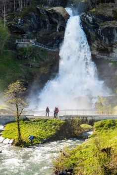 Steinsdalsfossen, Norheimsund, Norway.    ........................................................ Please save this pin... ........................................................... Because For Real Estate Investing... Visit Now!  http://www.OwnItLand.com