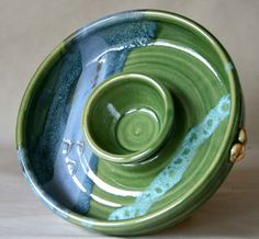 Chip & Dip... by: mosquito mud pottery