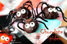 Halloween Creepy Crawler Chocolate Spiders