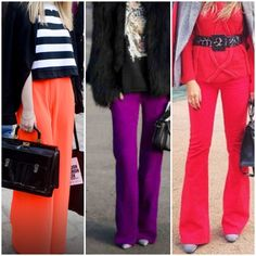 Flares and colours