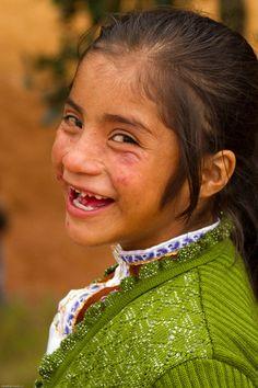 Indigenous Tzotzil Chamulan Child in Nichnamtic Chiapas, Mexico