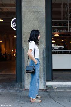 Raw hem jeans | Denim | The Lifestyle Edit