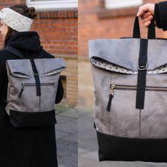 1fd6d4e6e2032 Kostenloses Schnittmuster  Handtasche mit austauschbarem Taschengurt