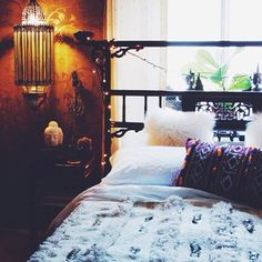Bohemian bedroom beauty
